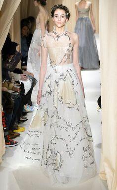 Valentino Couture Fashion Show & more details