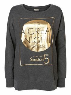 MICHAEL L/S SWEAT MIX - NM, Dark Grey Melange, main