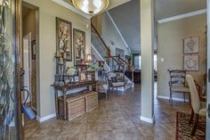 Entry Way / Rustic / Tuscan / Open Concept