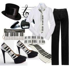 here's an idea for recital wear...