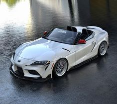 As the Toyota Supra and BMW share so much in common, it is extremely unlikely a full convertible version… Japanese Sports Cars, Japanese Cars, Japanese Babies, Toyota Cars, Toyota Supra, Royce Car, Honda Accord Sport, Car Goals, Cars