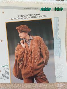 Creative Knitting, The Row, Stitch Patterns, Fur Coat, Crochet Hats, Jackets, Women, Fashion, Knitting Hats