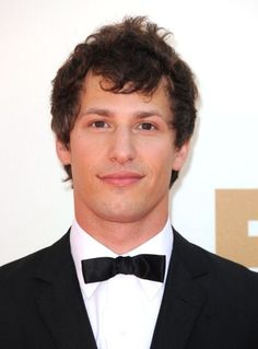Andy Samberg looks very handsome here