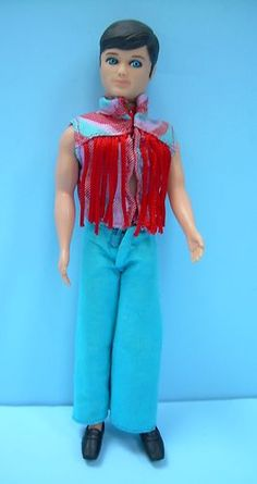 1970s DANCING GARY doll from DAWN series by Topper