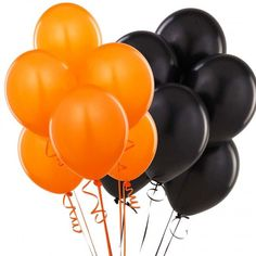 Baby Shower Sport theme Baby & sons Pack Of 50 Metallic Balloons orange & Black for Birthday Decoration Decoration for Weddings Engagement Baby Shower Birthday Orange Balloons, Metallic Balloons, Black Balloons, Latex Balloons, Halloween Party Decor, Halloween Kids, Birthday Party Decorations, Baby Shower Decorations, Halloween Balloons