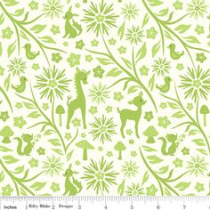 "Riley Blake Designs ""Woodland tails"" by Sheri Berry  - love this fabric"