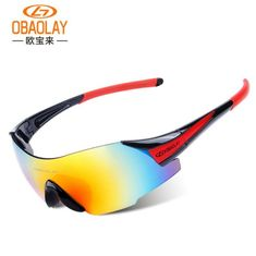 2017 Bicycle Glasses UV Protection Cycling Eyewear Outdoor Sports Riding Fishing Sunglasses Men Women Bike Goggles Black Blue