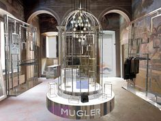 The Style Examiner: Pierre Balmain and Mugler Open New Stores in Milan