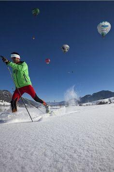 Langlaufen im Herzen von Walchsee Mount Everest, Mountains, Sport, Nature, Travel, Snowshoe, Ski Resorts, Ski Trips, Winter Vacations