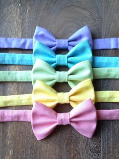 Easter Bow Ties by BrileyBean on Etsy