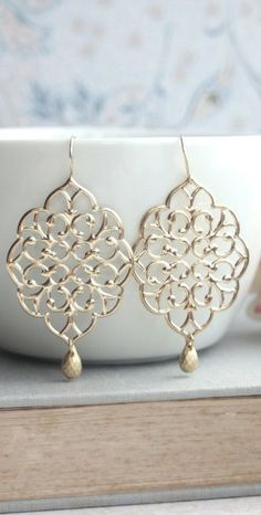 Moroccan Filigree Chandelier Dangle Earrings https://www.etsy.com/listing/174379447/large-gold-moroccan-filigree-chandelier?ref=shop_home_feat&utm_content=buffer92234&utm_medium=social&utm_source=pinterest.com&utm_campaign=buffer #silver #earrings