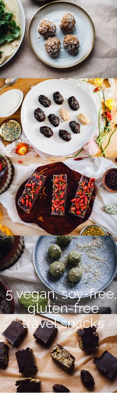 5 Vegan, Soy Free, and Gluten Free Travel Snacks