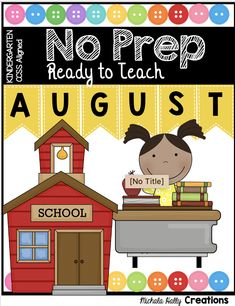 AUGUST NO PREP CENTERS - reading writing math - kindergarten standards - skills advance through the year - counting - letters - name - fine motor skills - colors - shapes - number line - one to one correspondence - sight words - first sounds - simple activities - august - back to school - printables - freebies - free resources #kindergartenbacktoschool #kindergarten Kindergarten Freebies, Kindergarten Lesson Plans, Kindergarten Centers, Homeschool Kindergarten, Preschool Learning Activities, Educational Activities, Preschool Ideas, Kindergarten Assessment, Preschool Worksheets