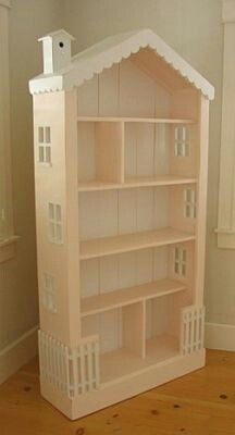 Doll house, could be used as a bookshelf later on