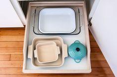 Here's How Hidden Cabinet Hacks Dramatically Increased My Kitchen Storage
