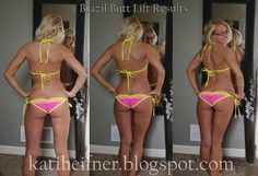My Brazil Butt lift results. EVERY woman needs this workout especially if you are having trouble getting rid of saddle bags, big thighs, saggy butt...NO butt, love handles, muffin top...the trainer really knows how to target our problem areas!