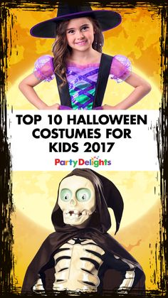 Halloween is creeping closer and if you're looking for inspiration for your child's Halloween costume, look no further! Browse our round-up of this year's best Halloween costumes for kids and if you see one you like, you'll find all the costumes featured at partydelights.co.uk.