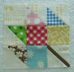 Bee In My Bonnet: Quilty Barn Along, Maple Leaf, Block #5