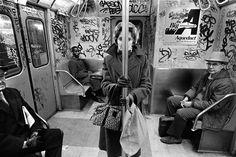 CC train, NYC, 1985
