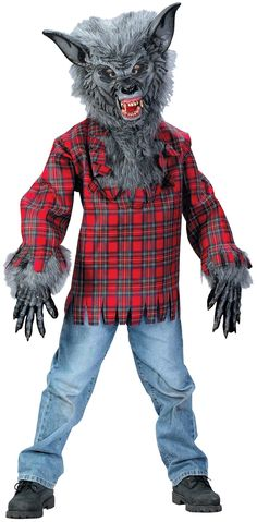 Werewolf Boy's Costume
