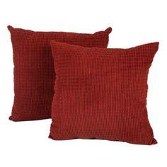 Red Logan Pillows, Set of 2 | Kirklands