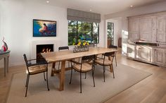 Hill Road Residence - modern - Dining Room - Santa Barbara - Manson-Hing Architecture
