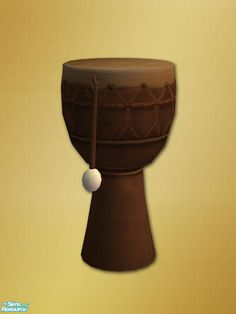shakeshaft's Africa Drum Endtable - Mesh