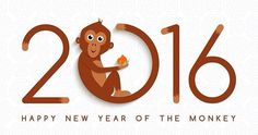 Happy Chinese New Year ! It's the year of the monkey :)