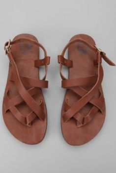 leather sandals from Urban Outfitters