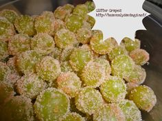 Glitter Grapes! - Great Healthy Snack for School Lunches!