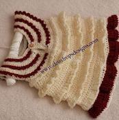 Crochet Ruffle Dress - via @Craftsy