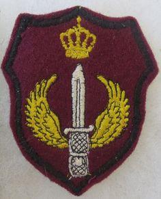 ORIGINAL Vintage JORDAN MILITARY SPECIAL FORCES GROUP UNIT PATCH