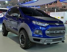 Ford EcoSport Strom Concept at the 2014 Sao Paulo Motor Show live image Ford Ecosport, 2019 Ford, Car Ford, Ford Lincoln Mercury, Ecosport 2014, Future Ford, Mini Crossover, Dacia Duster, Svt Raptor