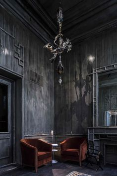 interior design | decoration | restaurant design |  paris: les bains hotel opening