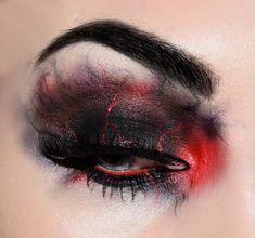 3 Eye Makeup Inspiration For Halloween 2016 Edgy Makeup, Gothic Makeup, Eye Makeup Art, Dark Makeup, Sfx Makeup, Fantasy Makeup, Cute Makeup, Costume Makeup, Makeup Looks