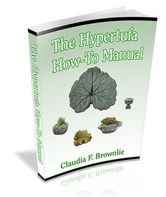 """The Hypertufa How-To Manual"" PDF ebook"