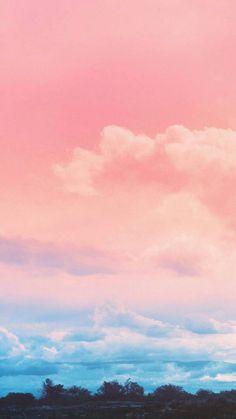 Sky-blue Pink sky