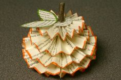 Unique Recycled Craft Ideas | Crafting a Green World | Recycled Paper Pumpkins! | Crafting a Green ...
