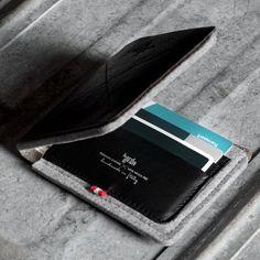 Hard Graft Smoke Bi-Fold Wallet