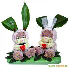 Gallery.ru / Zdjęcia # 115 - zabawki z świeżych kwiatów - semynova