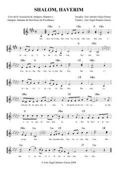 Coro de la Asociación de Antiguos Alumnos y Antiguas Alumnas de Don Bosco: Shalom, haverim