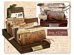 Gypsies Journal and Library Drawer