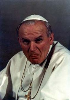 È proprio lui, il Beato Giovanni Paolo II Paul 2, Pope John Paul Ii, Catholic Religion, Catholic Saints, Pope Of Rome, Pape Jeans, Papa Juan Pablo Ii, Spiritual Images, Papa Francisco