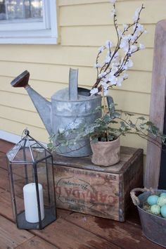 How to Decorate Your Front Door With Easter Decor. How to Decorate Your Front Door With Easter Decor. Created by blogger Lauren McBride exclusively for Discover, a blog by World Market. #DiscoverWorldMarket