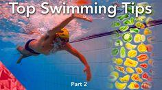 Top 20 consejos para mejorar en natación. Parte 2