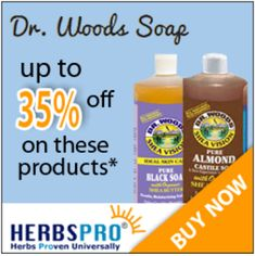 Tri Cities On A Dime: DR. WOODS PRODUCTS - UP TO 35% OFF ON ALL THESE PR...