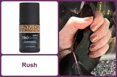 RUSH Specialty Color Coat TruShine Gel Enamel www.debsjaminails.jamberrynails.net