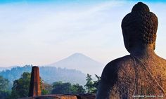 Over the Horizon. Borobudur is the single largest Buddhist structure in the world. The templewas built on the century and declared a UNESCO World Heritage Site in Borobudur Temple, Hotel Reservations, Heritage Site, The Good Place, Buddha, Culture, Adventure, World, Building