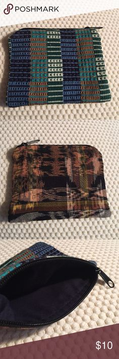 """Two sided pouch Two sided pouch. 5.5"""" long by 4.5"""" tall Bags Cosmetic Bags & Cases"""
