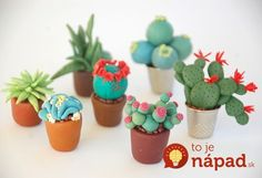 Make Tiny Plants for Your Fairy Garden 2019 Create your own miniature cactus garden with polymer clay. The post Make Tiny Plants for Your Fairy Garden 2019 appeared first on Clay ideas. Polymer Clay Miniatures, Fimo Clay, Polymer Clay Projects, Polymer Clay Fairy, Miniature Plants, Miniature Fairy Gardens, Cactus Craft, Baking Clay, Clay Fairies